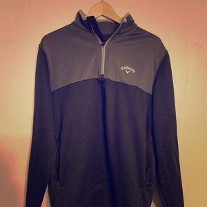 Calloway Golf two toned 1/4 zip pullover.